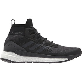 adidas TERREX Free Hiker Shoes Herren core black/gresix/active orange